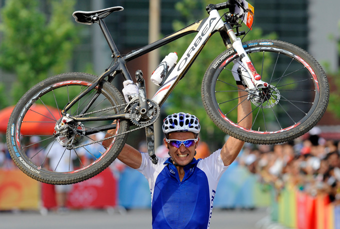 Julein Absalon, double champion olympique de VTT